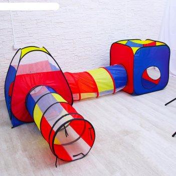 Детский игровой модуль лабиринт 382х100х83 см