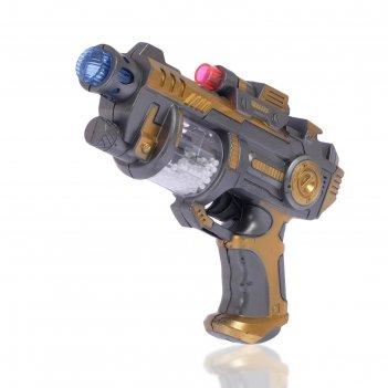Пистолет «дезинтегратор», световые и звуковые эффекты, работает от батарее