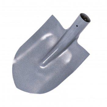 Лопата универсальная, рудная, тулейка 40 мм, без черенка, микс