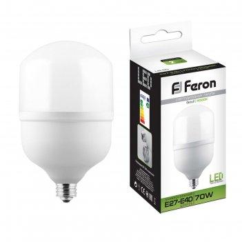 Лампа светодиодная lb-65, 70 вт, 230v, e27-e40, 4000 k