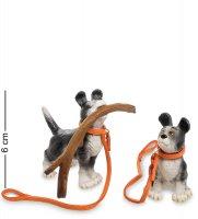 Pr-ruf09 статуэтка собаки (my hero! rufus. parastone)