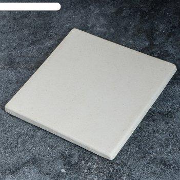 Камень для выпечки квадратный, 30х30х2 см