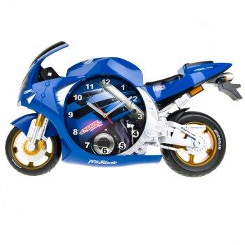 Часы настенные мотоцикл 50*11*28см. (4вида) (часы-батарейка 1аа в комплект