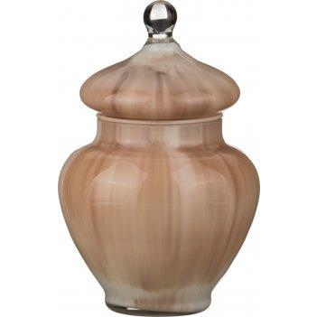 Декоративная чаша с крышкой kaliska высота=21 см...
