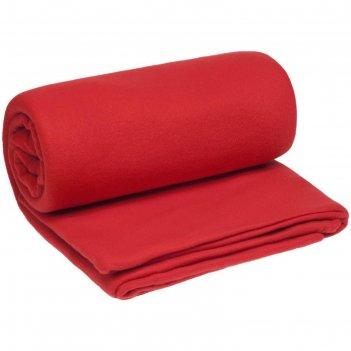 Плед-спальник snug, размер 145x175 см, цвет красный