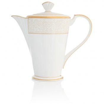 Кофейник 1,1л белый дворец