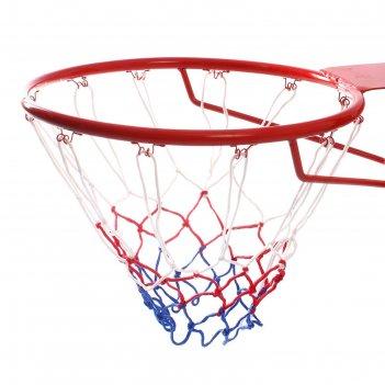 Сетка баскетбольная триколор, нить 3 мм