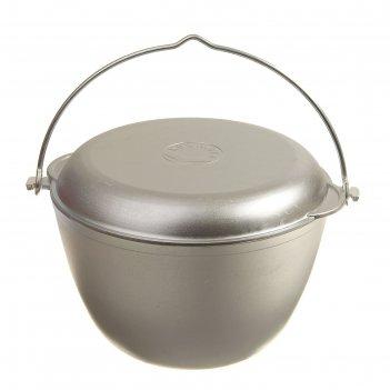 Казан походный 5 л с крышкой-сковородой