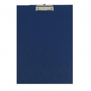 Планшет с зажимом а3 420*300 канцбург б/в синяя