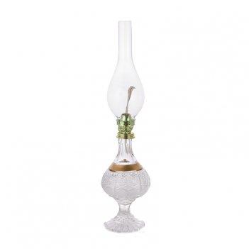 Лампа керосиновая хрусталь