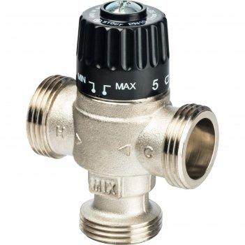 Клапан смесительный stout svm-0025-236525, 1 наружняя резьба, 30-65°с kv 2