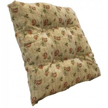 Подушка на скамейку «розы» розы (п)