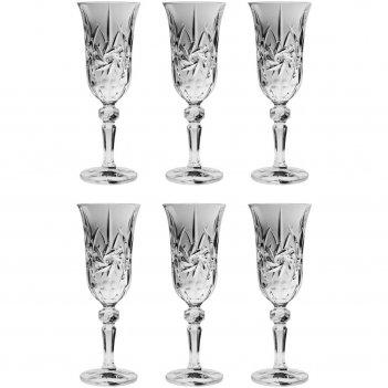 Набор из 6 бокалов для шампанского pinwheel, 150 мл