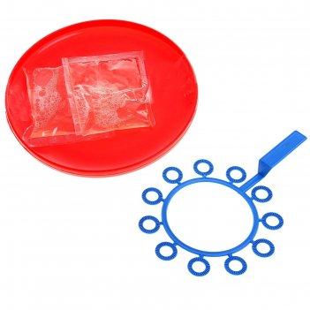 Мыльные пузыри супер, 200 мл., цвета микс