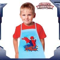 Набор детский:фартук+доп.элементы супер герой, человек-паук