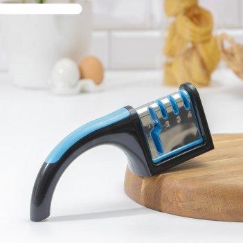 Точилка для ножей (металл, керамика) и ножниц, полировка, 22x8x6 см, цвет
