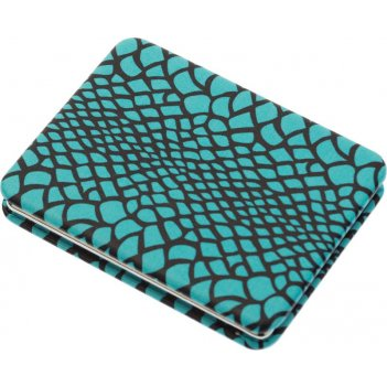 Зеркало pmp-5573c компактное дикая природа прямоугольное, голубая рептилия