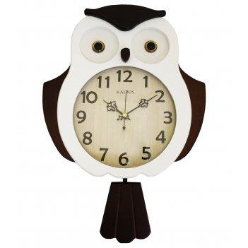 Настенные часы с маятником kairos ka 019w