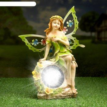 Садовый светильник фея на солнечной батарее, 27 см