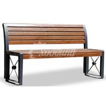 Скамейка стальная «софия» 3,0 м