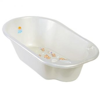 Ванна детская bears дельфин белый 2904la-вв-нк-pl