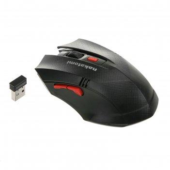 Мышь mron-04u black nakatomi navigator rf 2.4g optical - 6 кнопок + ролик