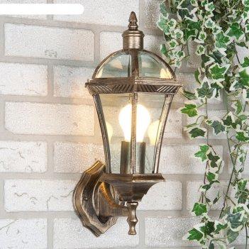 Светильник elektrostandard садово-парковый, 60вт, e27, ip44, настен., cape