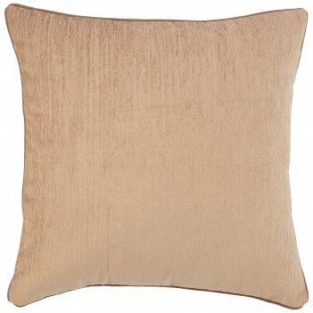 Подушка декоративная лаунж 45х45см,100% п/э,бежевый.