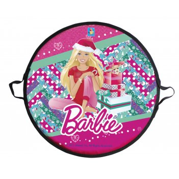 1toy barbie, ледянка,  52 см, круглая