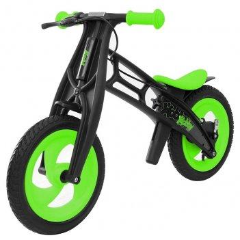 Велобалансир+беговел hobby-bike rt fly в черная оса plastic kiwi/black в-ш