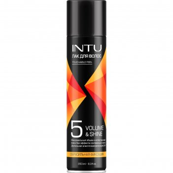 Лак для волос intu ultra volume & shine ссф, 250 мл