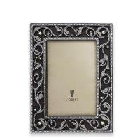 Рамка для фото, размер фото: 10 х 15 см, материал: латунь, стекло, кожа, к