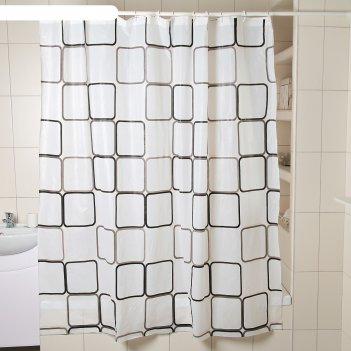 Штора для ванной графика