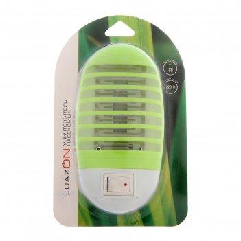 Уничтожитель насекомых электрический уф-4 led, 9.5 см (220в)