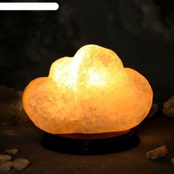 Светильник соляной биение сердец цельный кристалл, 3 кг