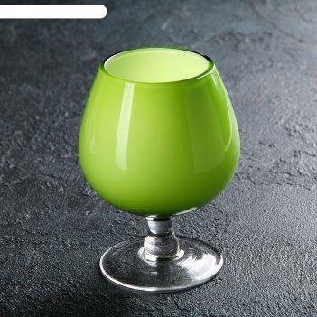 Бокал для виски 120 мл лазурит, цвет зелёный