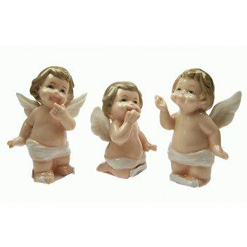 Одна статуэтка ангелочек, фарфор 7*4*9см
