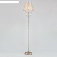 Торшер liona, 1x40вт e27, цвет серебро