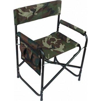 Кресло складное следопыт с карманом на подлокотнике, сталь pf-for-sk02