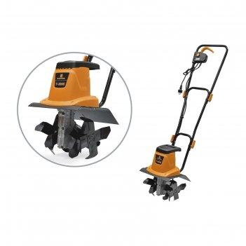 Культиватор carver t-300 е, электрический, 800 вт, 340 об/мин, ширина/глуб