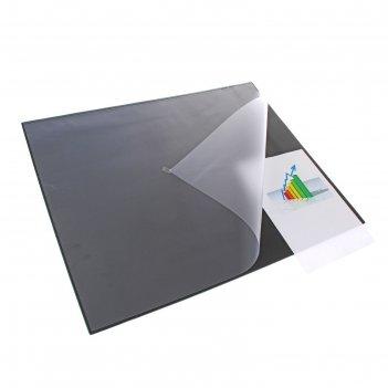 Накладка на стол durable, 650 x 520 мм, нескользящая основа, верхний прозр