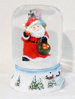 Шар декор дед мороз 9х11 см