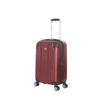 Чемодан wenger ridge, цвет бордовый, абс-пластик, 34х24x54 см , 31л