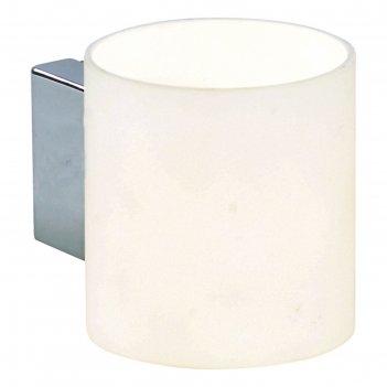Бра cubo 1x40w g9 белый 8x10x9 см