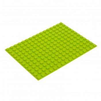 Пластина-основание для конструктора, малая цвет салатовый 25,5 х19 см