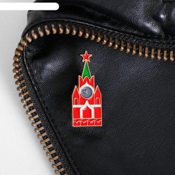 Значок «москва» (спасская башня)