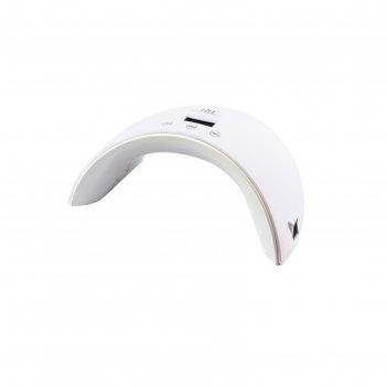 Лампа для гель-лака tnl sense, uv/led, 36 вт, таймер 30/60/90 с, белая