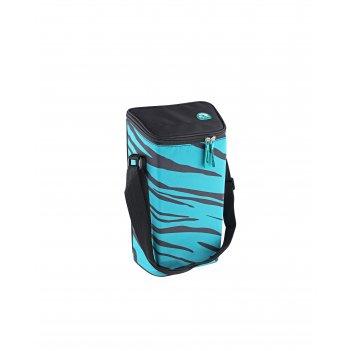 Изотермическая сумка-холодильник igloo wine tote turquoise-zebra