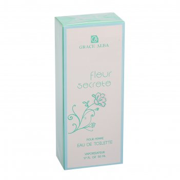 Туалетная вода для женщин grace alba fleur secrete, 50 мл