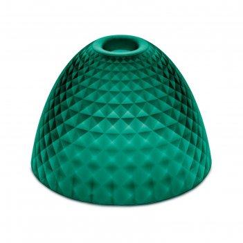Плафон stella silk s, зелёный